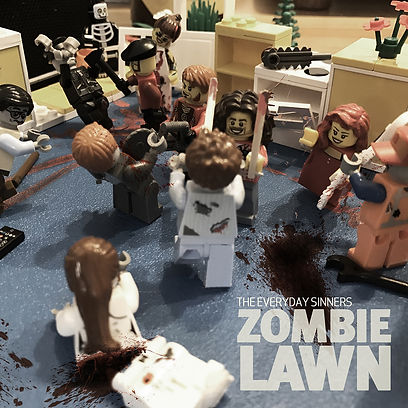 The Everyday Sinners - Zombie Lawn Cover