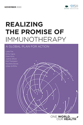 Realising the promise of immunotherapy.p