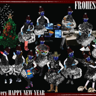 FrohesFest and a very Happy New Year from the Griffiths lab, made by Nele