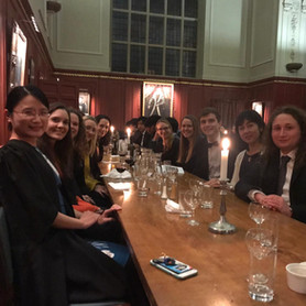 Formal at Sidney Sussex College organised by Pip, Oct 2019