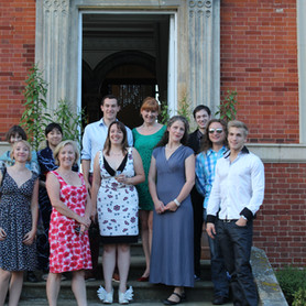Griffiths lab retreat at Chicheley Hall