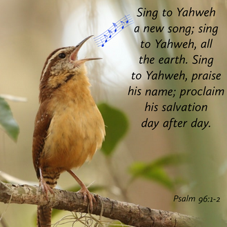 Psalm 96:1-2