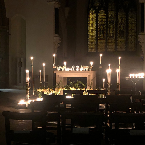 Maundy Thursday vigil 2019