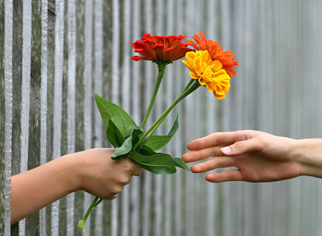 People's hardwired instinct to reciprocate when given a gift!