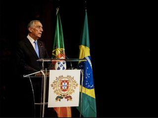 """Presidente de Portugal diz que Portugal e Brasil estão """"unidos pela alma"""""""