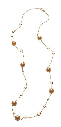 Caravelles Seven Pearl Necklace