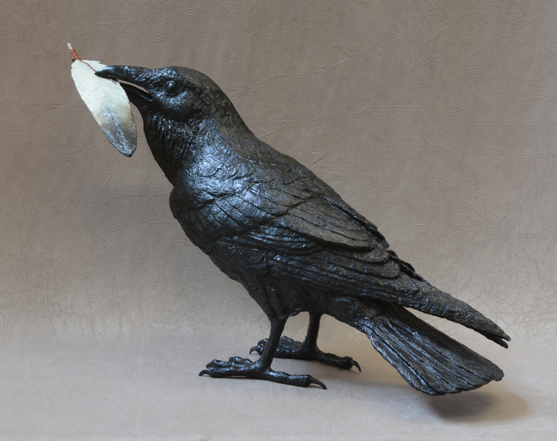 Raven VIIID, with Feather