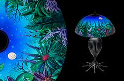 Moonscape, Mikael Darni Table Lamp
