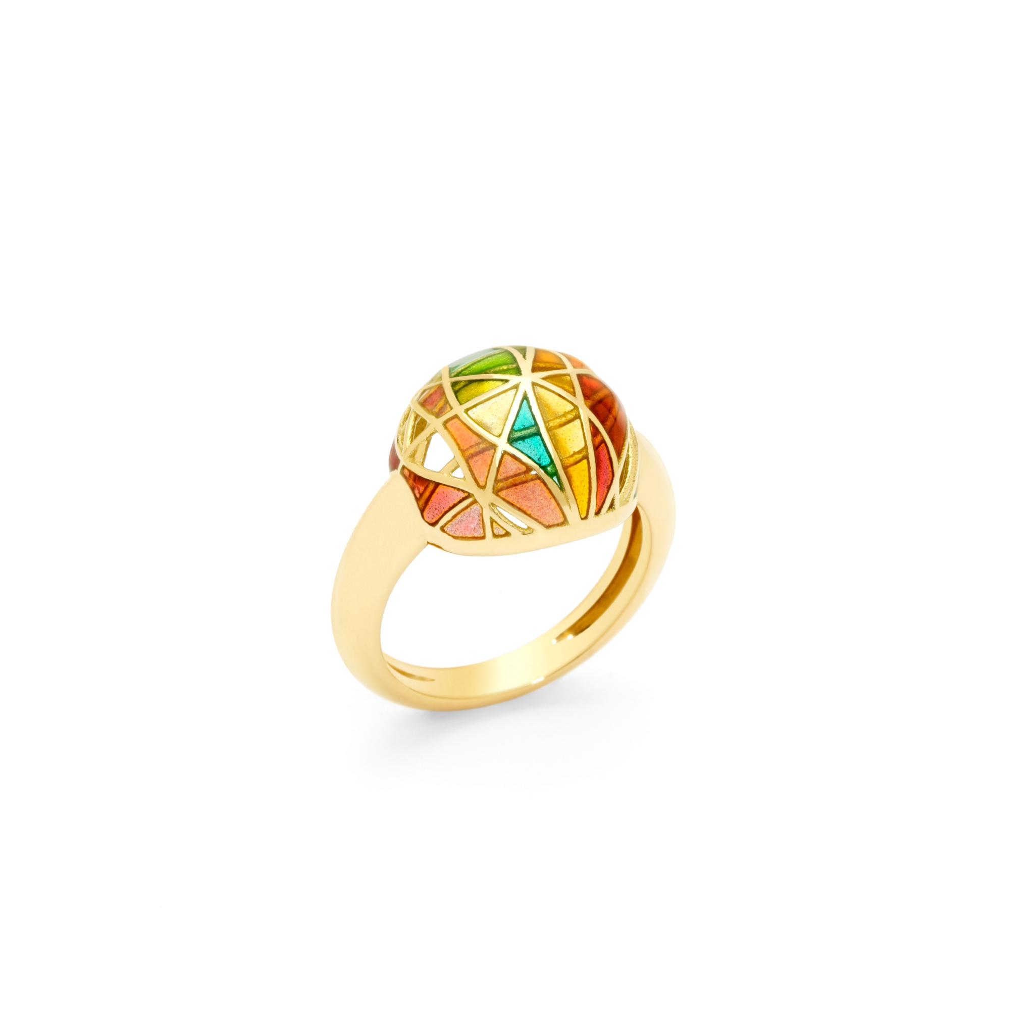 Autumn Sphere Ring