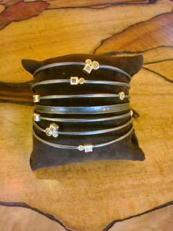 Bangles Collection with Diamonds