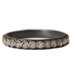 Champagne Diamond Stack Ring