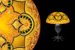 Mir, Monochromatic Table Lamp