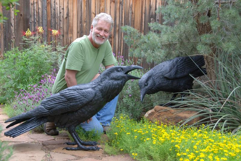 Jim Eppler & Twice Life Size Ravens