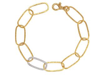 Hoopla Diamond Link Bracelet