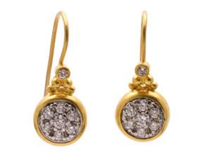 Moonstruck Earrings with Diamonds