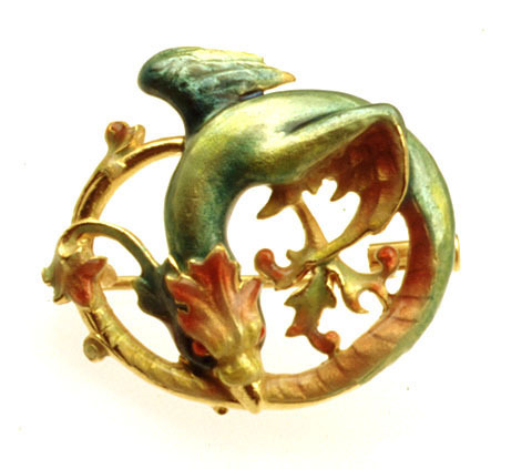 Dragon Pendant/Brooch