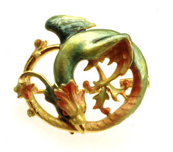 Dragon Pendant/Brooch