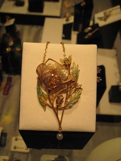 Flower Brooch/Pendant