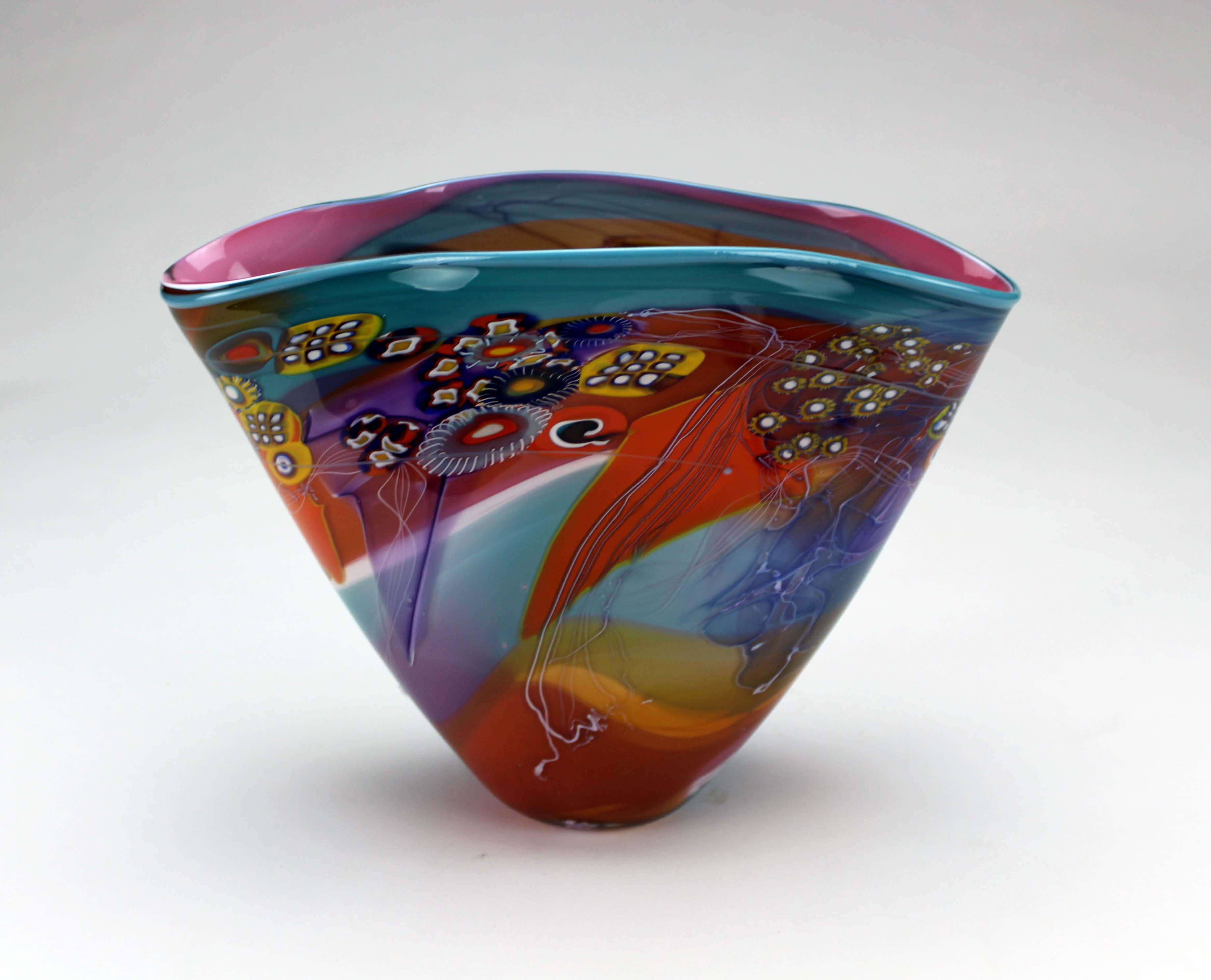 Small Colorfield Vessel, Red