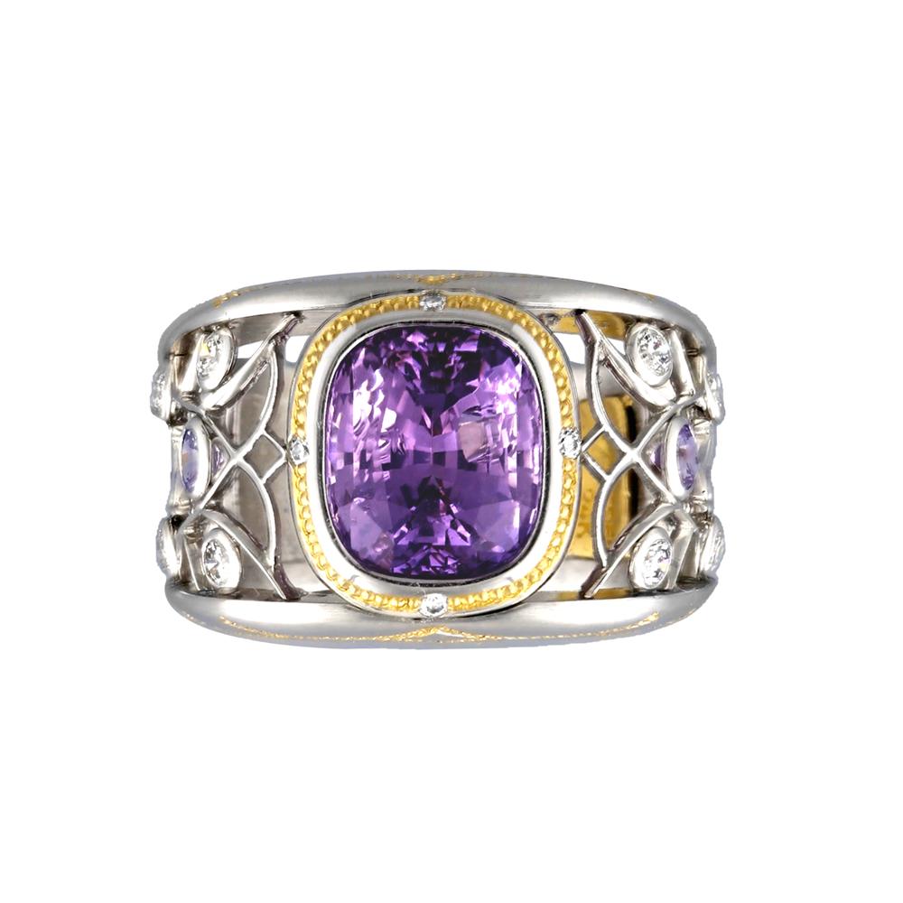 Elfin Amethyst Ring