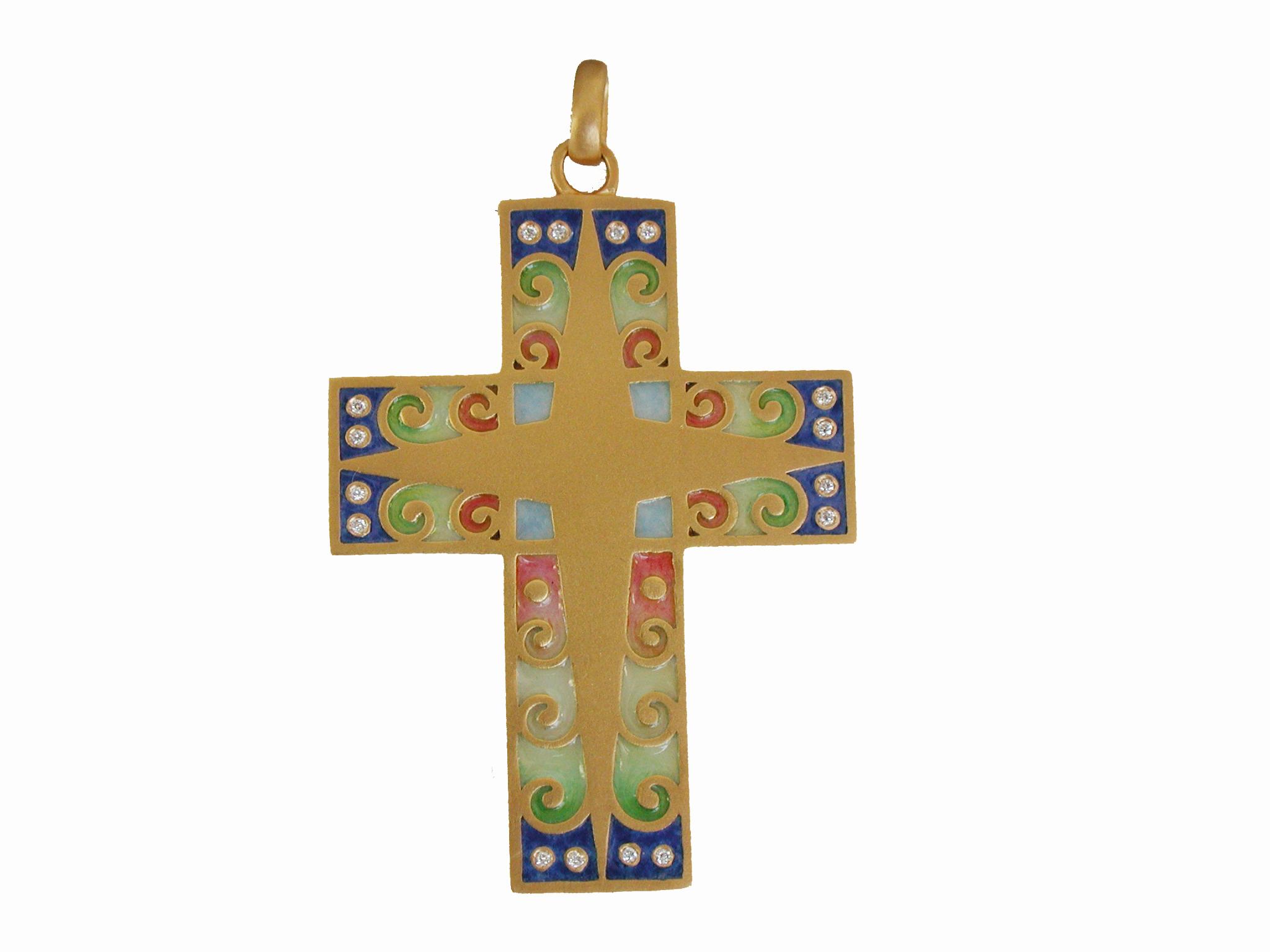 Barcelona Cross Pendant