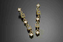 Cubes Dangle Earrings