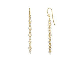 Long Seeded Pearl Earrings