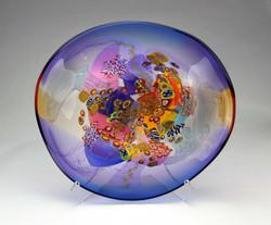 Large Colorfield Platter