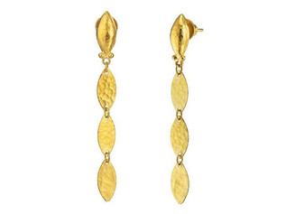 Willow Leaf Flake Earrings