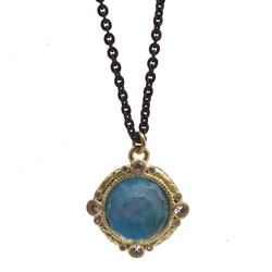 Peruvian Opal Triplet Necklace