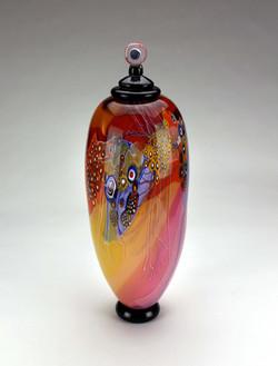Tall Colorfield Jar