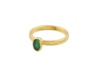 Emerald Skittle Ring