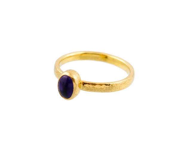 Amethyst Skittle Ring