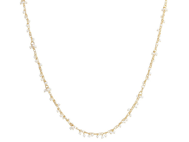 Delicate Seed Pearl Necklace