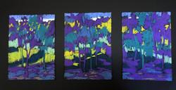 West View II Triptych