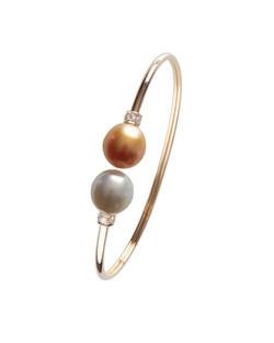 Classiques Two Tone Pearl Bracelet