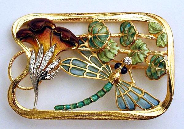 Dragonfly Pendant/Brooch