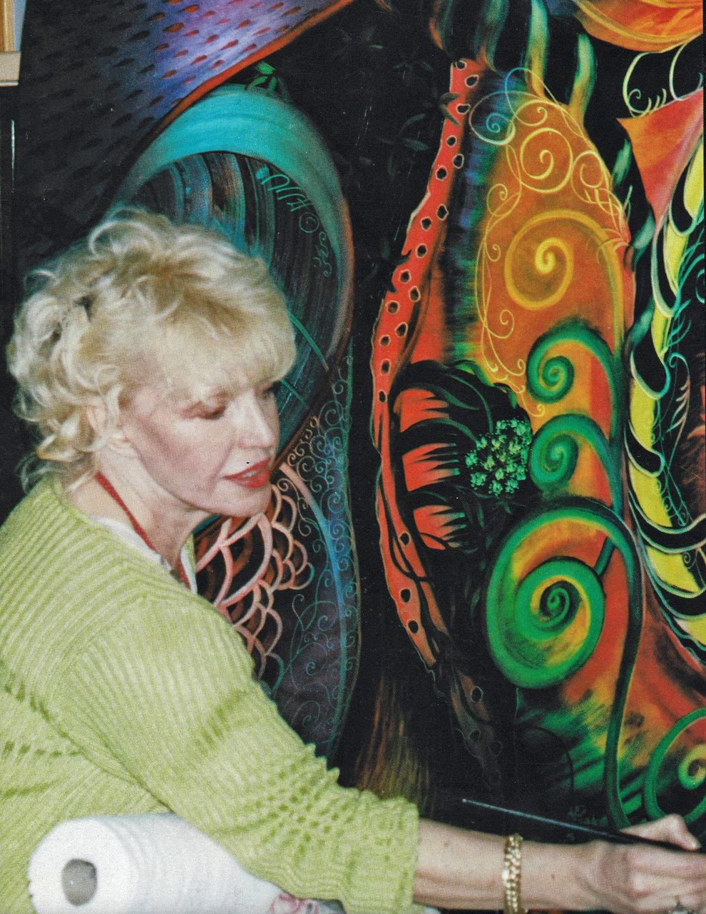 Ulla Darni Painting