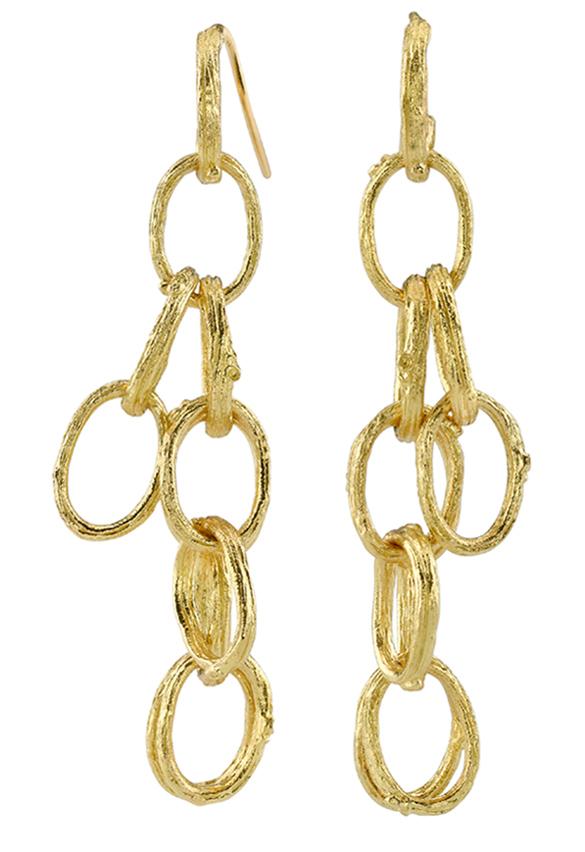 Branch Link Earrings