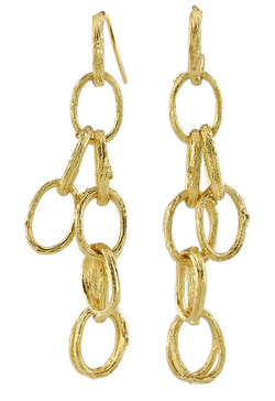 Branch Link Earrings
