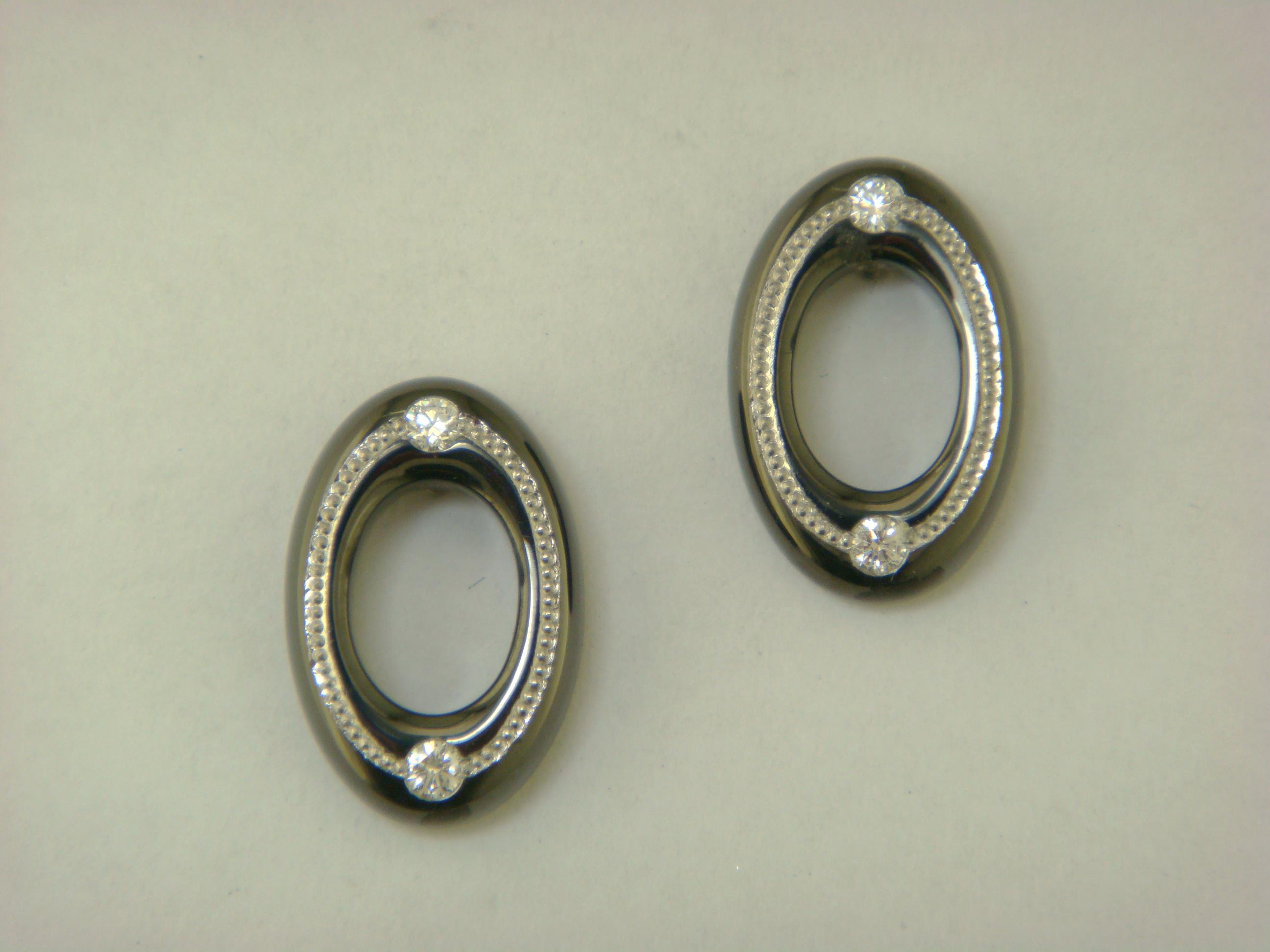 Oval Torus Earrings