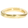 Gold Organic Shaped Band