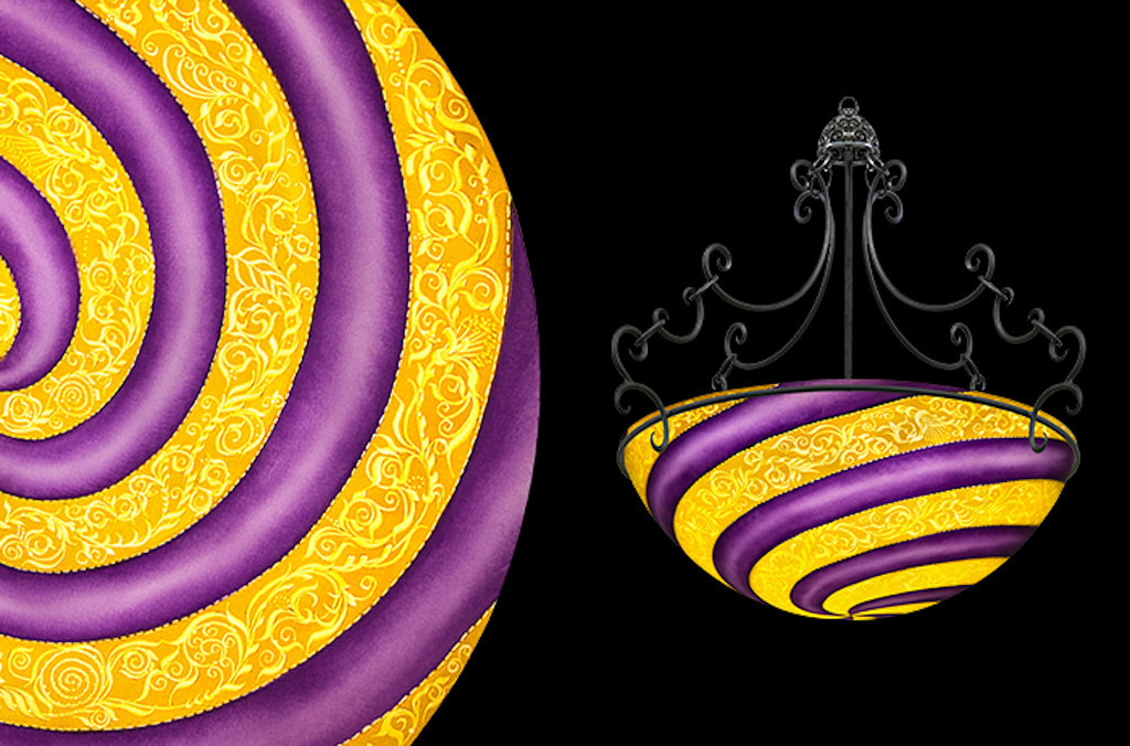 Vienna Bold, Purple
