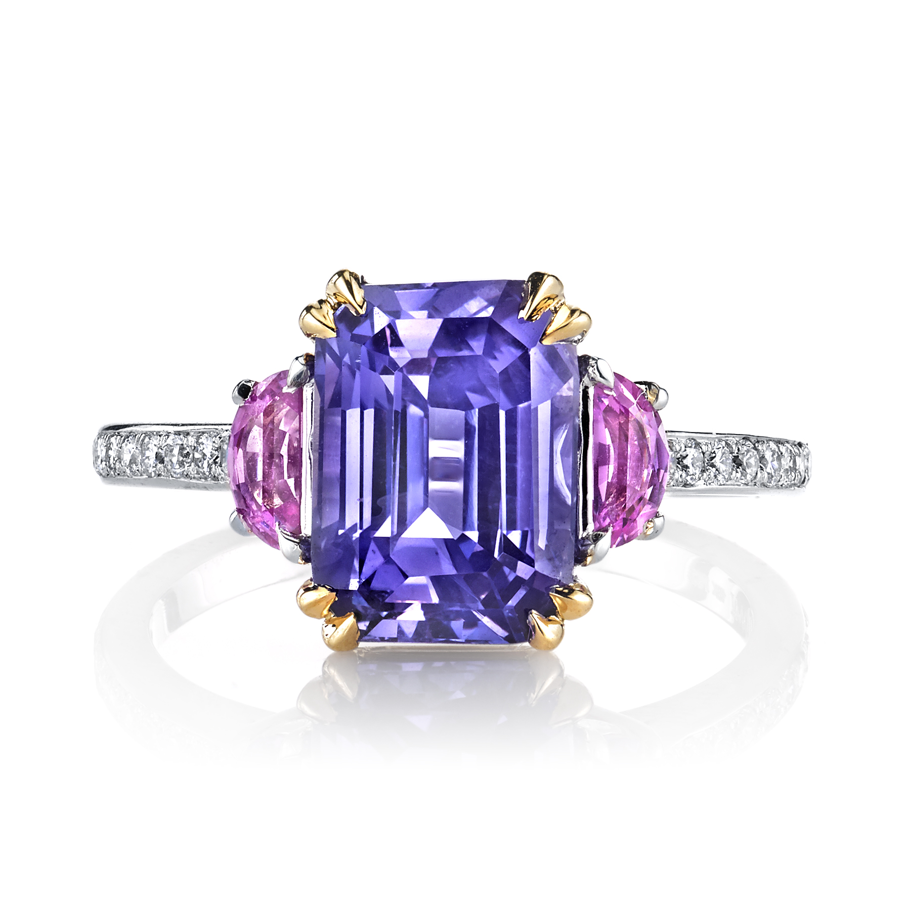 Natural Lavender Sapphire