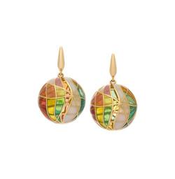 Autumn Sphere Earrings