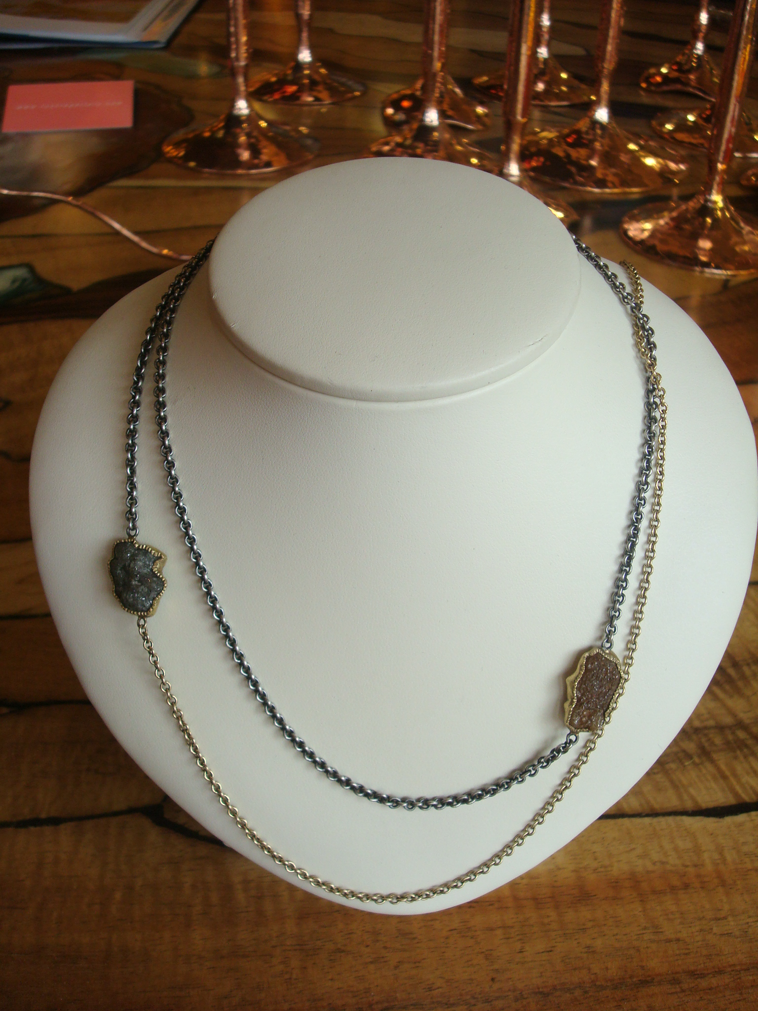 Alluvial Diamond Necklace