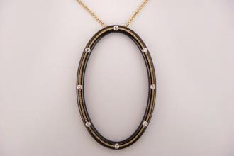 Oval Athena Pendant