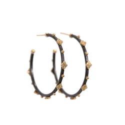 Crivelli Diamond Hoop Earrings