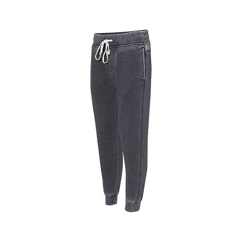 Washed-Out Gray French Terry Joggers