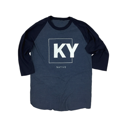 KY Native Baseball Tee
